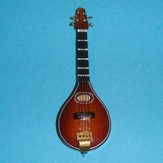 Lyre en bois - 7861A4 1/12ème #maisondepoupées #dollhouse #lyre #instrument #musique #music #miniatures #miniature #bois