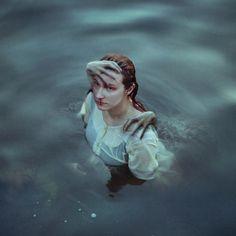 creepy | spooky | underwater monster | erie | nightmare | fine art photography