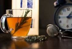 """""""It's always a good time for photo by Paola Merlassino Herbal Teas, Pint Glass, Herbalism, Herbs, Canning, Tableware, How To Make, Herbal Medicine, Dinnerware"""