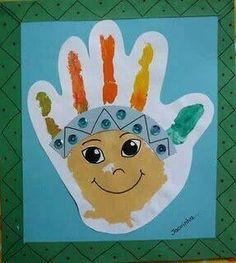 - Native American crafts for kids Why Do We Say Red Indıan to Native Americans? There is a little red Indian who name is Moonlight. This little red Indian is so curious she asks everything. Thanksgiving Art, Thanksgiving Crafts For Kids, Thanksgiving Activities, Fall Crafts, November Crafts, Footprint Crafts, Native American Crafts, Indian Crafts, Handprint Art