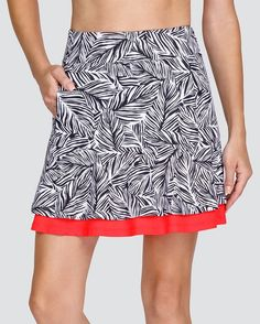 """Check out what Loris Golf Shoppe has for your days on and off the golf course! Tail Ladies Aubriella 18"""" Pull On Print Golf Skort - PALM COAST (Palm Coast)"""
