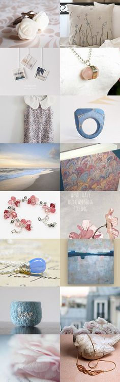 Roses are quartz ~ Serenity is blue by Anna Cull on Etsy--Pinned with TreasuryPin.com