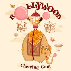 = Hollywood Chewing Gum   Amandine PIU
