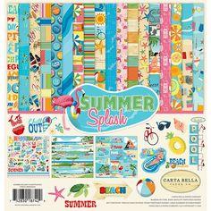 Carta Bella Paper - Summer Splash Collection - 12 x 12 Collection Kit