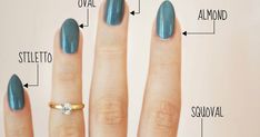 The Ultimate Guide To Finding The Perfect Nail Shape For