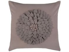 Rizzy Home Misty Mauve Pillow Cover