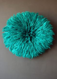 JuJu Hat Feather Wall Hanging ...this one is on my bedroom wall...