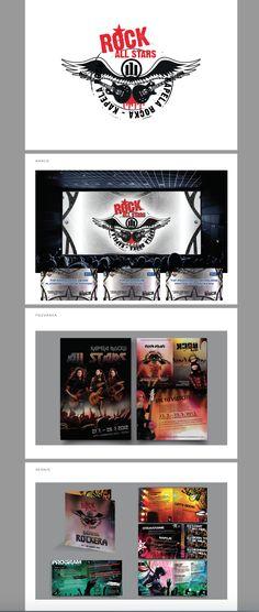 Allianz Rock stars konference (invitation, barco, guide, etc.)