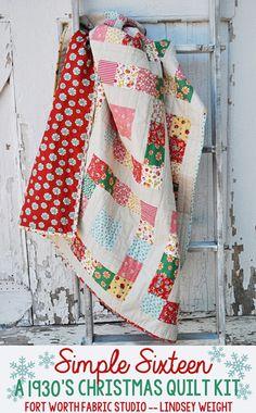 boy baby quilt kit