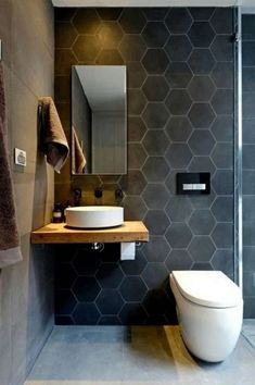 ✔15 Best Designs Restroom Ideas for Small Bathroom Tips to Fresh Today * allhous.com #designrestroom #bathroomdesign #smallbathroomdesignrestroom