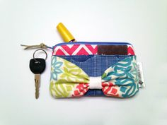 Womens Wallet Spring Wallet Wallet Pouch Iphone by Mdowlingdesigns