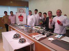 El ciclo del CCT 'Sabores de la Región de Murcia' ofrece una demostración de alta gastronomía basada en hortalizas de temporada