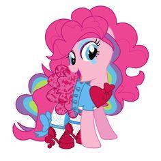 My little pony - Rainbow rocks - Pinkie Pie by YSBrony2000 on DeviantArt