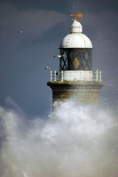 Storms over the lighthouse by almardigital, via Flickr