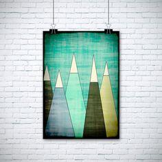Góry - M-Domanska - Wydruki i plakaty