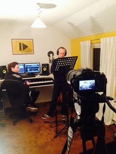 Afgelopen weekend namen we de vocals op en schoten we beelden voor de videoclip van het nieuwe clublied van RKSV Margriet.