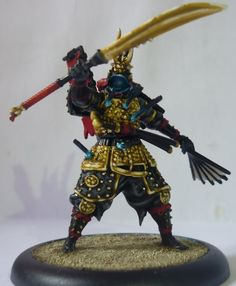 The Ward Save: Malifaux WIP: Izamu, The Armor