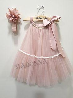 19K175 Cute Baby Dresses, Dresses Kids Girl, Kids Outfits, Cute Outfits, Flower Girl Dresses, Dress Anak, Evening Dresses With Sleeves, Kids Frocks Design, Frock Design