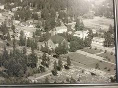 Hartolan kirkonkylä  vuonna  1961. Kuka muistaa näitä aikoja?