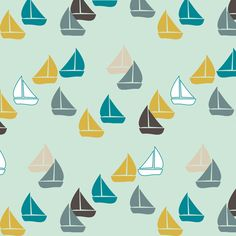 Spoonflower has the best collection of nautical fabric anywhere.  I've never seen so many choices, so many possibilities.