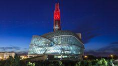 museu dos direitos humanos  - Canadá