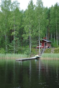 Summer cottage by Lake Saimaa, Finland
