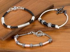 Free Ideas: Artbeads.com - Coiled to Perfection Bracelets