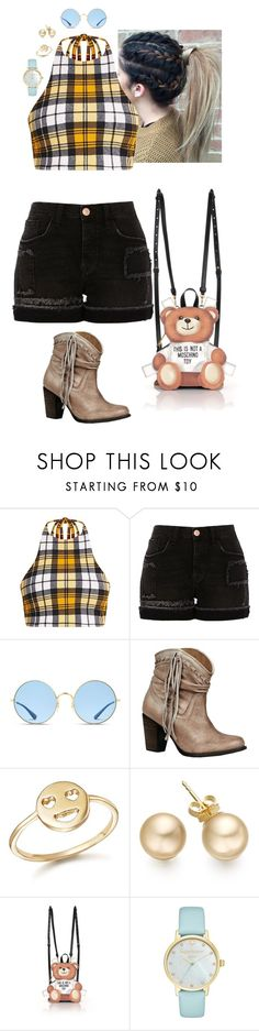 """""""Untitled #299"""" by stinze on Polyvore featuring River Island, Ray-Ban, Naughty Monkey, Bing Bang, Moschino and Kate Spade"""