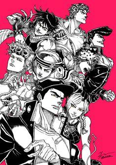 Jojo's Bizarre Adventure Jojo's Bizarre Adventure, Jojo's Adventure, Manga Anime, Manga Art, Anime Art, Bizarre Art, Jojo Bizarre, Fanart, Jojo Anime
