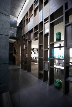 Mueble Celosía acceso (De WRKSHP arquitectura/urbanismo)