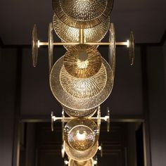 The designs of our lighting beautifully interact with each element of the space. Be inspired by our ideas. Mosaic, Lighting Design, Inspiration, Interior Decorating, Beautiful Lighting, Home Decor