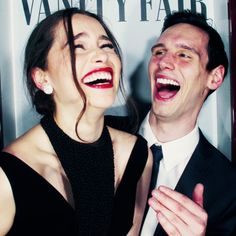 Emilia Clark and Cory Michael Smith Daenerys and the Riddle *-*