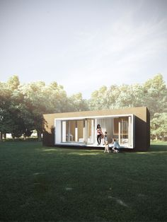 Portable Homes Portugal offers mobile homes, modular houses, portable bungalows and land packages for sale and rent. Portugal, Container Buildings, Container Houses, Portable House, Construction, House In The Woods, Lodges, Bungalow, Cork