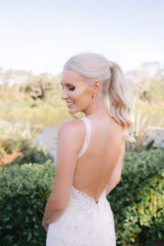 Stunning Bride. Wedding Dress. Pony Hairstyle. Pony Hairstyles, Simply Beautiful, Summer Wedding, Wedding Styles, Brides, Groom, Wedding Dresses, Amazing, Creative
