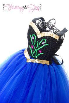 Princess Anna Inspired Tutu Dress Frozen by FrostingShop on Etsy