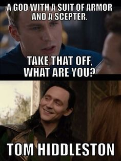 Tom Hiddleston is all he needs to be.