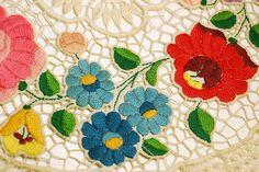 Hungarian Kalocsai embroidery...