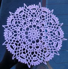 Ravelry: Crowns Surround pattern by Cille Heckenbach Crochet Home, Knit Or Crochet, Crochet Motif, Crochet Crafts, Crochet Doilies, Crochet Flowers, Crochet Projects, Free Crochet, Free Doily Patterns
