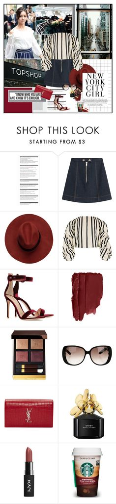 """""""We ain't never getting older."""" by summervintage ❤ liked on Polyvore featuring Arche, Sonia Rykiel, Johanna Ortiz, Gianvito Rossi, Tom Ford, Gucci, Yves Saint Laurent, H&M and Marc Jacobs"""