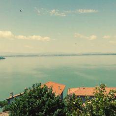 Monte Del Lago Trasimeno veduta del #altrasimeno from the tower foto/video di @apeindiana