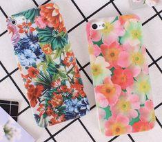 Tropical Flower Bomb Tropical Colors, Tropical Flowers, Floral Iphone Case, Iphone Cases, Flower Bomb, Colours, Design, Iphone Case