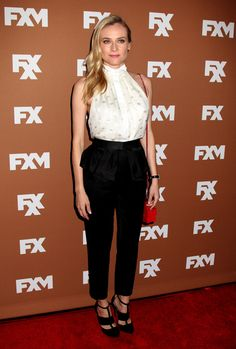 Diane Kruger attending the FX 2013 Upfronts - Held at Lucky Strike Bowl in New York City - March 28, 2013 - Photo: Runway Manhattan/AFF