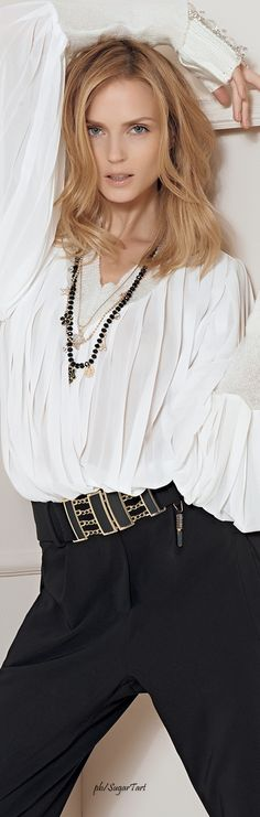 Sonia Fortuna S/S 2016 women fashion outfit clothing style apparel @roressclothes closet ideas