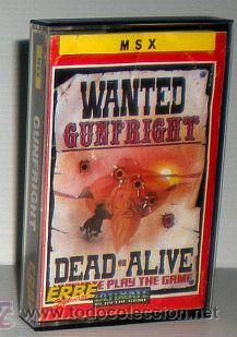 Gunfright [Ultimate Play the Game] 1986 Erbe Software [MSX]