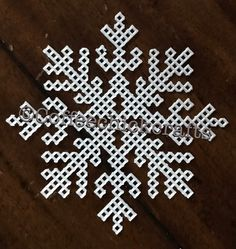 Copo de nieve lona plástica Cut Outs lona plástica forma de