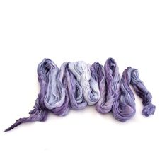 """Thanks for the kind words! ★★★★★ """"A gorgeous scarf-delicate and lariat like with subtle shade variations of purples- I love it! It's beautifully crafted and hand dyed. A wonderful addition to my collection- and it also shipped and arrived very quickly. Thank you Hera~"""""""