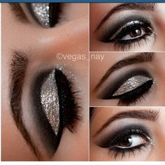 Repost check out @vegas_nay she has some kool makeup tutorial for you to try out on your own