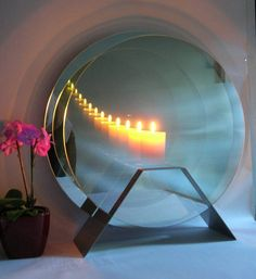 Unique Gift Ideas and Personalised Gifts Mirror Box, Mirror Candle, Rear Mirror, Infinite Mirror, Infinity Table, 3d Optical Illusions, Copper Lamps, Circular Mirror, Tecno