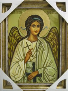 Ангел-хранитель (холст,масло)-художник Ядвига Сенько