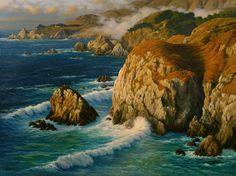 Charles White - Rocky Point, Big Sur